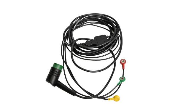 3-Lead ECG Cable - Lifepak 12-15-20 (2)