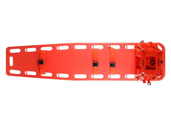 Ferno Universal Head Immobilizer on Backboard